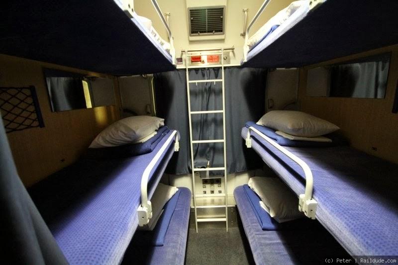 Dormir En El Tren Pensar En Viajar